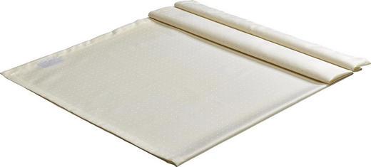 TISCHDECKE Textil Creme 130/170 cm - Creme, Basics, Textil (130/170cm)