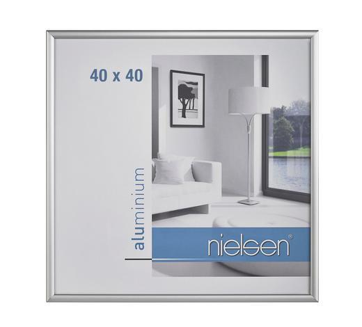 BILDERRAHMEN  Silberfarben  - Silberfarben, Basics, Metall (40/40cm) - Nielsen