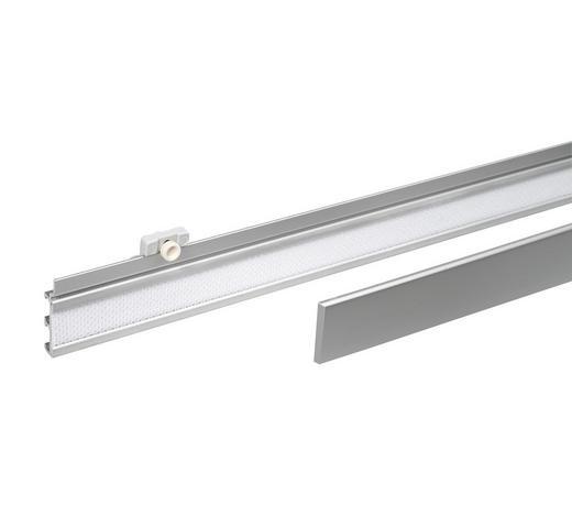 KOLEJNICE - bílá/barvy hliníku, Design, kov/umělá hmota (60/3.7cm) - Homeware