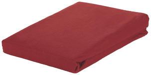 SPANNLEINTUCH 200/200 cm  - Bordeaux, KONVENTIONELL, Textil (200/200cm) - Esposa