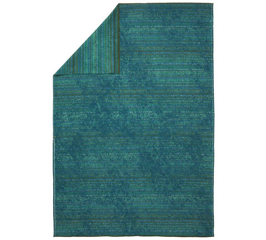 DECKE 130/200 cm - Grün, KONVENTIONELL, Textil (130/200cm) - David Fussenegger