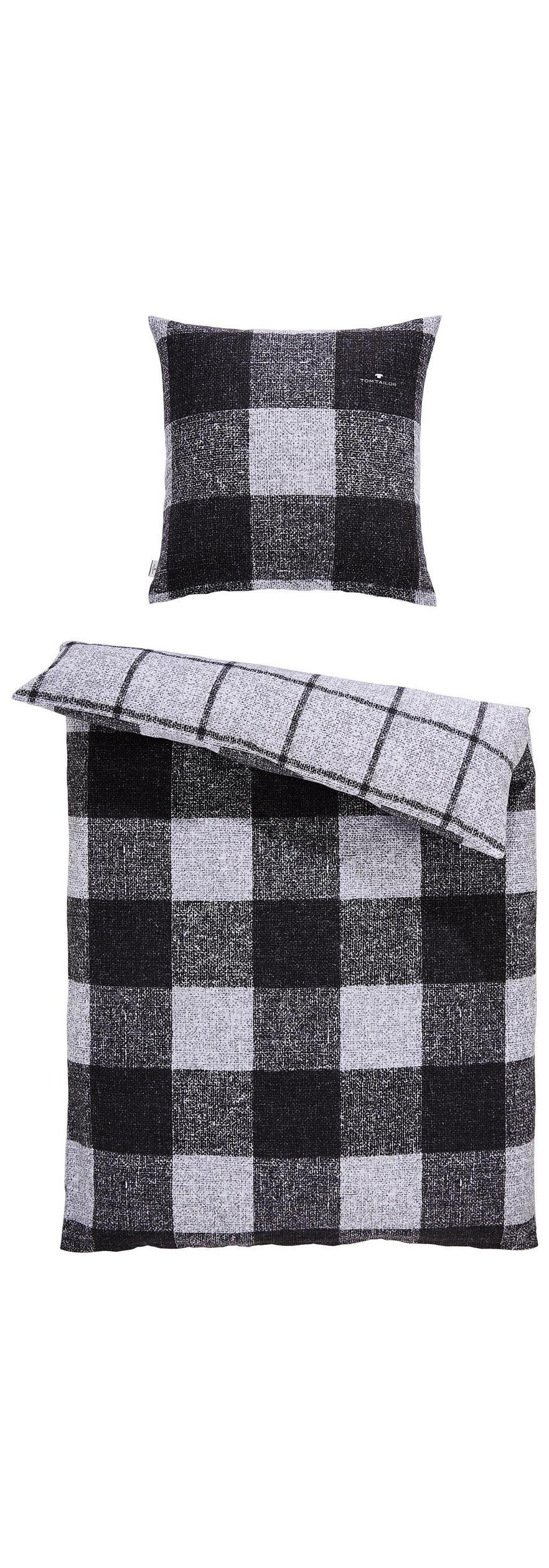 Bettwäsche Biber Schwarz Weiß 135200 Cm Online Kaufen Xxxlutz