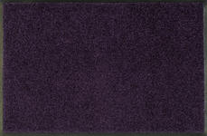 FUßMATTE 40/60 cm Uni Violett  - Violett, Basics, Kunststoff/Textil (40/60cm) - Esposa