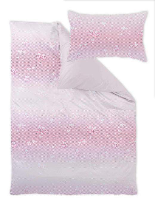 Curt Bauer Babybettwäsche - Rosa, Basics, Textil (100/135cm)