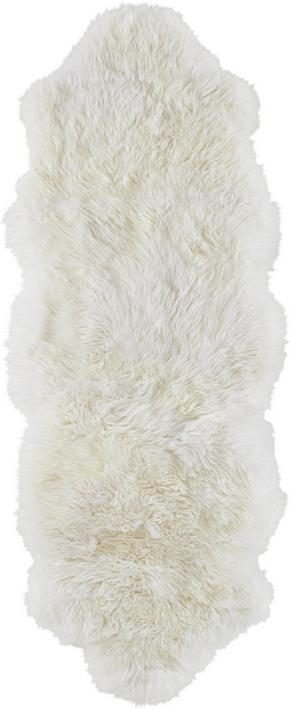 FÅRSKINN - vit, Natur, textil (45/130cm) - Linea Natura