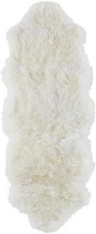 SCHAFFELL - Weiß, Natur, Textil (45/130cm) - Linea Natura