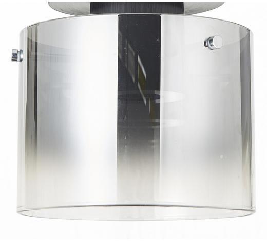 DECKENLEUCHTE - Klar/Schwarz, Design, Glas/Metall (20/21.5cm) - Dieter Knoll