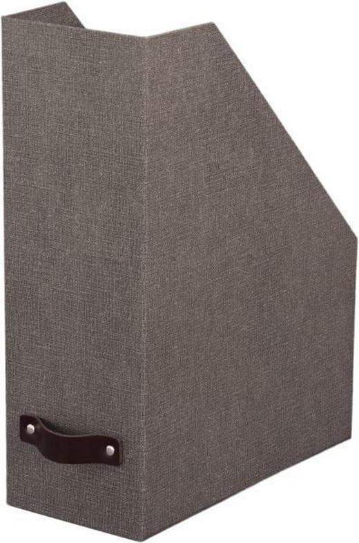 STEHSAMMLER Karton Grau - Grau, Basics, Karton (25/12/32cm) - BOXXX