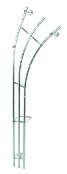 VJEŠALICA ZIDNA - boje kroma, Design, metal (52/184/33cm) - BOXXX