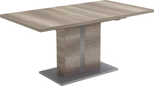ESSTISCH Eiche rechteckig Eichefarben - Eichefarben, Design, Holzwerkstoff (160(200)/90/76cm) - VALDERA