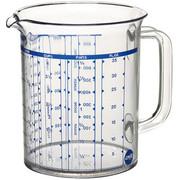 MESSBECHER - Transparent, Basics, Kunststoff (1l) - Emsa