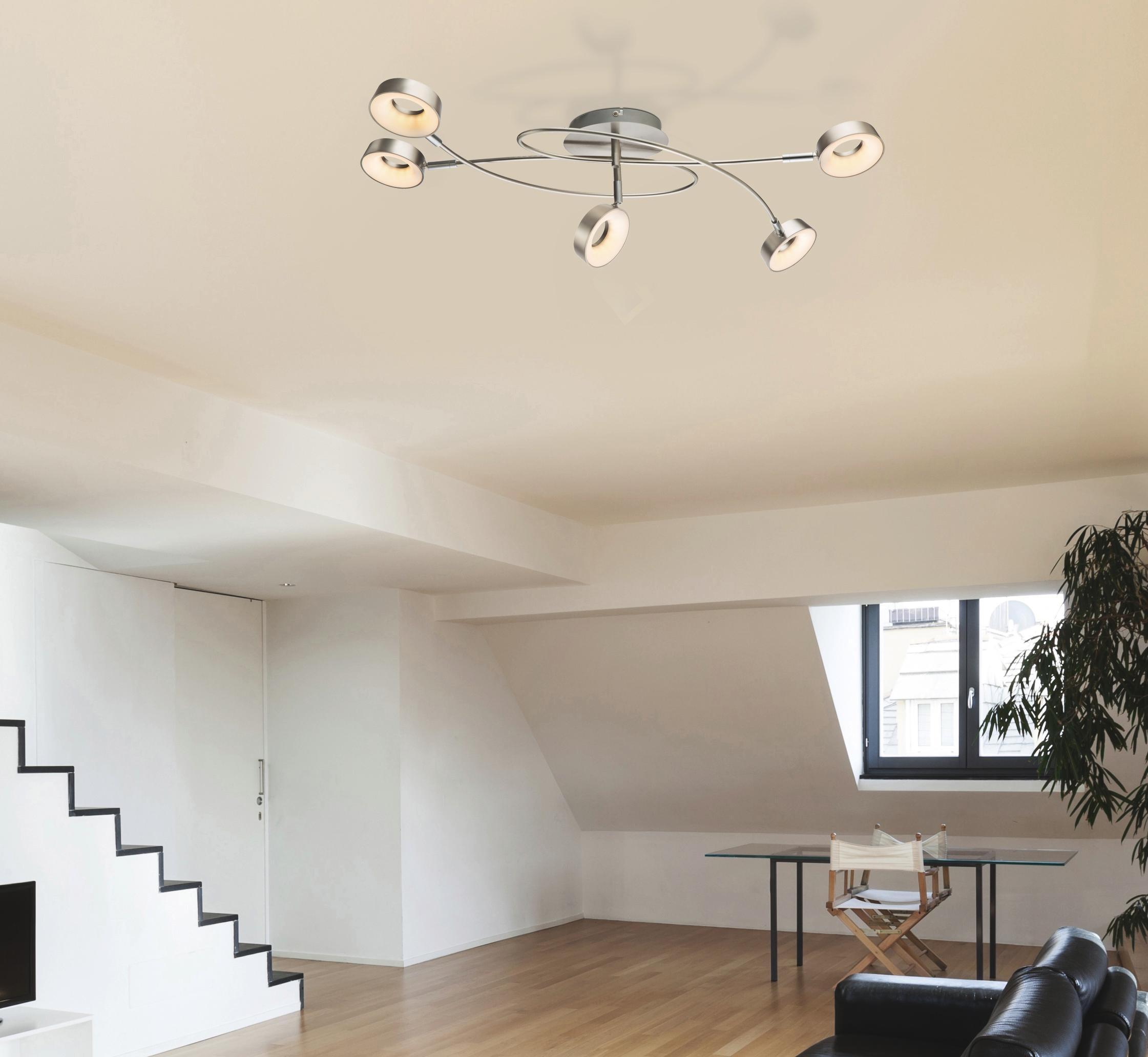 Moderne Led-deckenleuchte Leuchte Lampe Oberfläche Montieren Wohnzimmer Schlafzimmer Bad Fernbedienung Hause Dekoration Küche Farben Sind AuffäLlig Licht & Beleuchtung Deckenleuchten & Lüfter