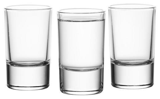 GLÄSERSET 3-teilig - Klar, Basics, Glas (18,5/7,5/4,5cm)