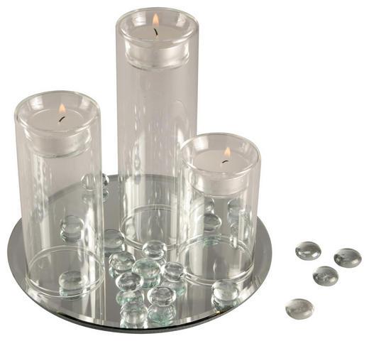 TEELICHTHALTER-SET - Klar, LIFESTYLE, Glas (20cm)