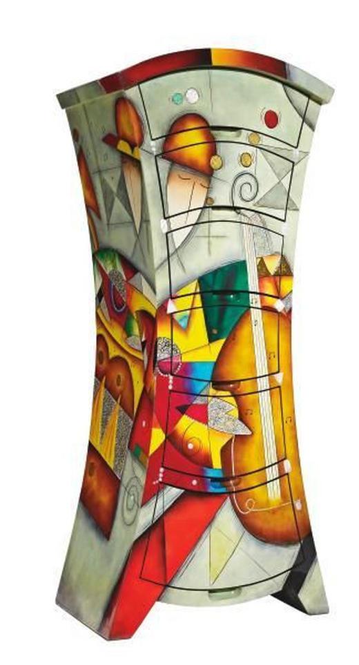 KOMMODE Multicolor - Multicolor, Design, Holz (61/142/42cm) - Xora