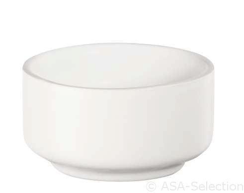 SCHALE Keramik - Weiß, Design, Keramik (7/4cm) - ASA