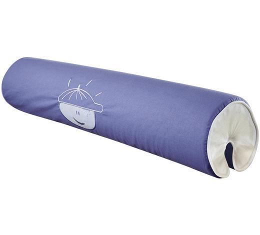 NACKENROLLE  - Hellblau, Design, Textil (80/16/16cm)