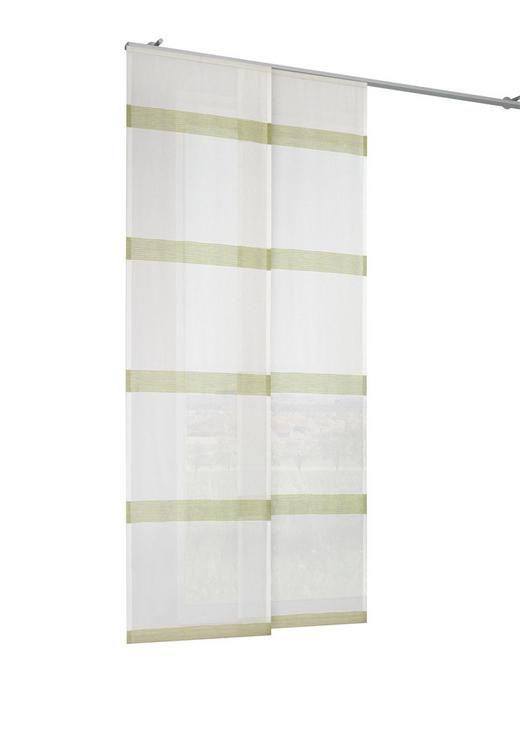 FLÄCHENVORHANG   halbtransparent   60/245 cm - Grün, Basics, Textil (60/245cm) - NOVEL