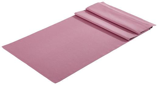 TISCHLÄUFER Textil Webstoff Violett 45/150 cm - Violett, Basics, Textil (45/150cm) - Bio:Vio