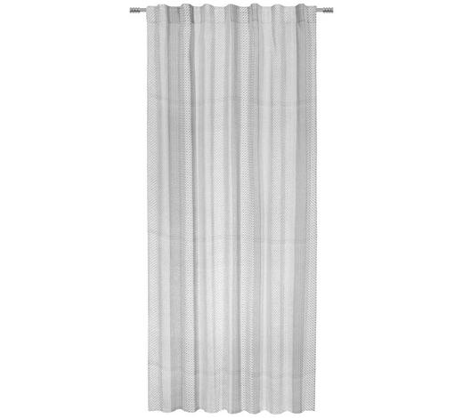 FERTIGVORHANG halbtransparent  - Schwarz/Weiß, LIFESTYLE, Textil (140/255cm) - Esposa