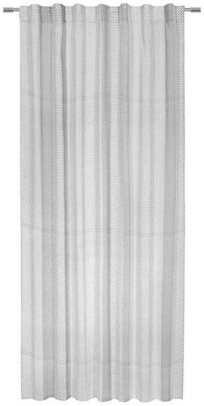 GARDINLÄNGD - vit/svart, Lifestyle, textil (140/255cm) - Esposa