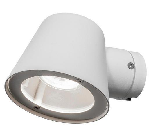 WANDLEUCHTE - Weiß, Design, Metall (11,5/16/11cm)