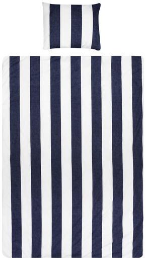 PÅSLAKANSET - vit/mörkblå, Basics, textil (50/60cm)