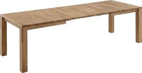 ESSTISCH in Holz 140(240)/90/76 cm   - Eichefarben, KONVENTIONELL, Holz (140(240)/90/76cm) - Novel
