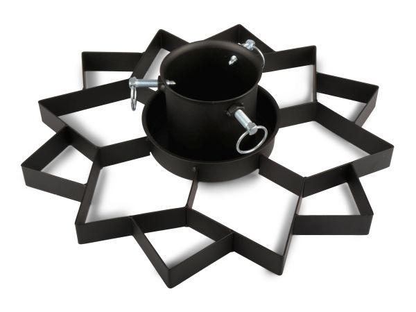JULGRANSFOT - svart, Basics, metall (44,5/10,5/42,5cm)
