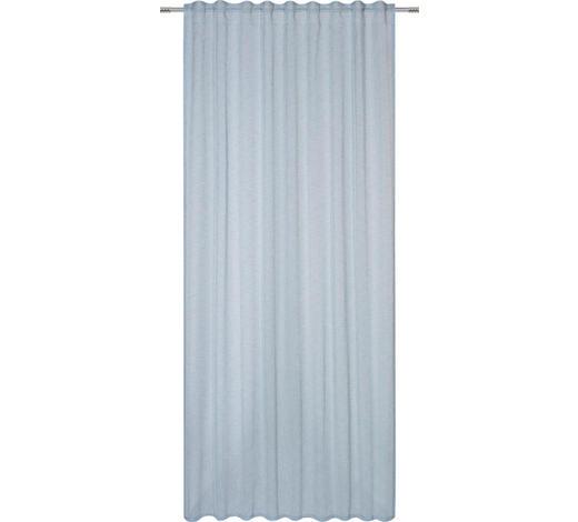 FERTIGVORHANG  halbtransparent   140/245 cm - Blau, Basics, Textil (140/245cm) - Esposa