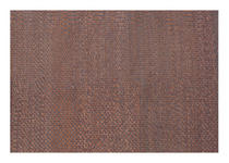 LEDERTEPPICH 130/190 cm - Braun, LIFESTYLE, Leder/Textil (130/190cm) - Linea Natura
