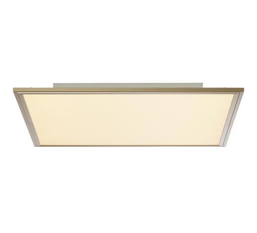 LED-DECKENLEUCHTE   - Nickelfarben, KONVENTIONELL, Kunststoff/Metall (59,5/59,5/5cm)