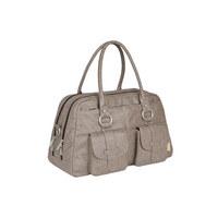 WICKELTASCHE - Braun, Basics, Textil (45,5/23/25cm) - Lässig