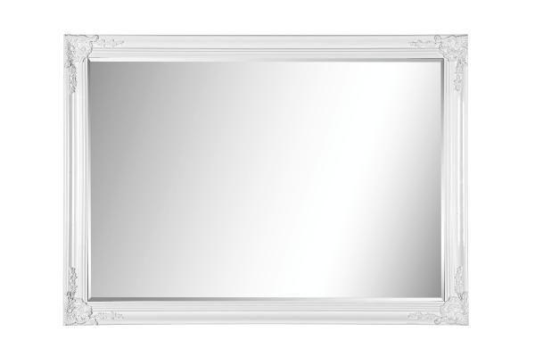 OGLEDALO - bijela, Lifestyle, drvo (105/75/3,3cm) - LANDSCAPE