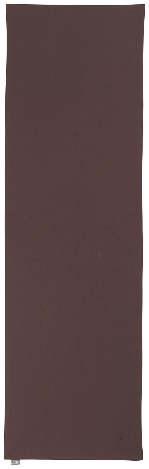 TISCHLÄUFER Textil Braun 45/150 cm - Braun, Basics, Textil (45/150cm) - Linum