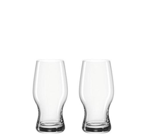 BIERGLAS - Transparent, KONVENTIONELL, Glas (7,50/15,00/7,50cm) - Leonardo