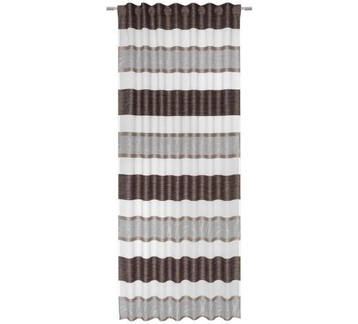 FERTIGVORHANG transparent  - Beige/Creme, KONVENTIONELL, Textil (135/245cm) - Esposa