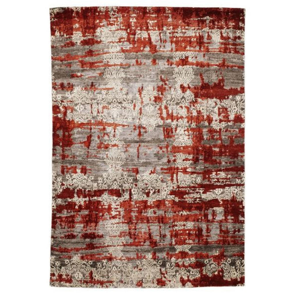 Esposa Orientteppich , Braun, Rot , Textil , Bordüre , rechteckig , 250 cm , Care & Fair , für Fußbodenheizung geeignet, in verschiedenen Größen erhältlich , Teppiche & Böden, Teppiche, Orientteppiche