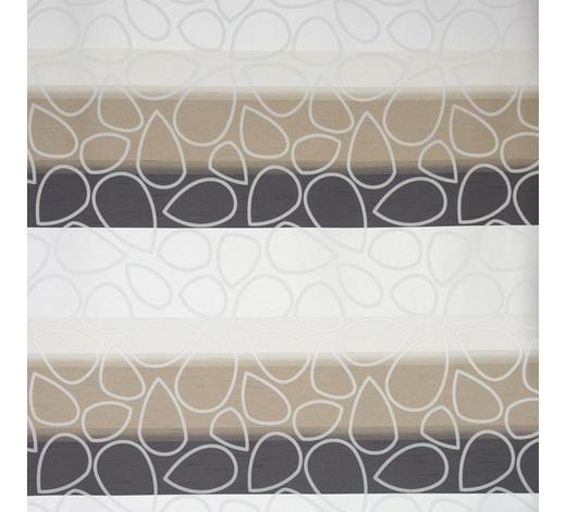DEKOSTOFF per lfm blickdicht  - Anthrazit/Braun, KONVENTIONELL, Textil (140cm) - Esposa
