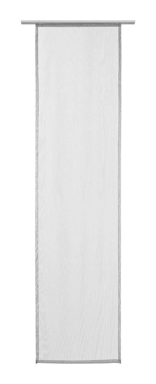 FLÄCHENVORHANG   halbtransparent  60/245 cm - Taupe, KONVENTIONELL, Textil (60/245cm) - Novel