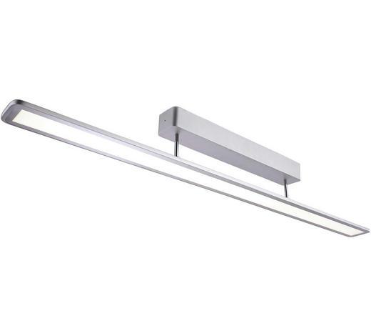 LED-DECKENLEUCHTE - Alufarben, Design, Metall (100/7/12cm)