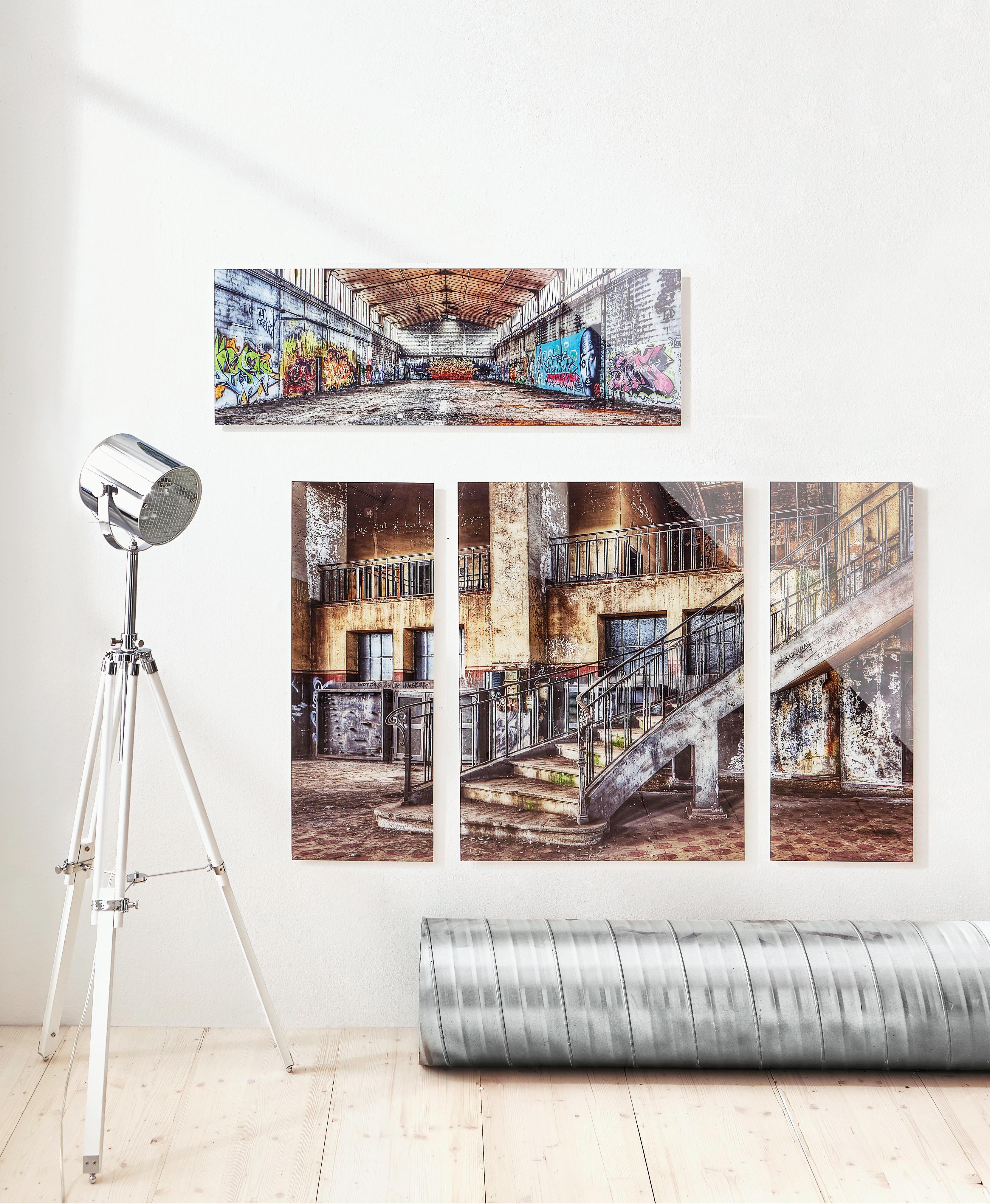 GLASBILD - Multicolor, Basics, Glas (33/98/2cm) - EUROGRAPHICS
