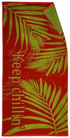 STRANDTUCH 91/180 cm - Rot, Design, Textil (91/180cm) - Esposa