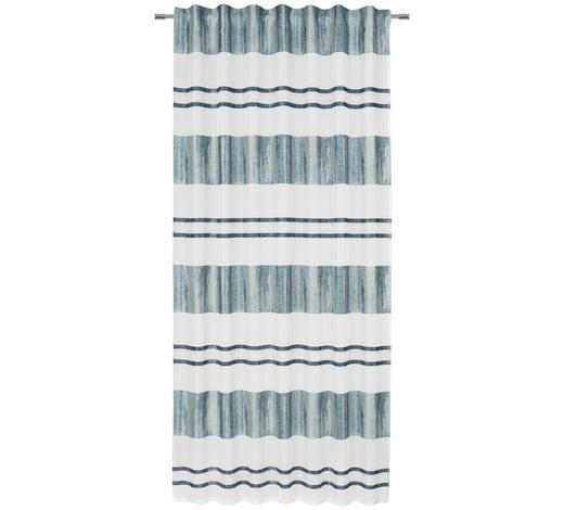 ZÁVĚS, průhledné, 140/245 cm - petrolej, Lifestyle, textil (140/245cm) - Esposa