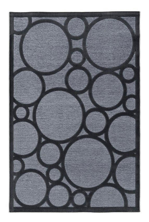 JOOP! CIRCLES  140/200 cm  Grau, Schwarz - Schwarz/Grau, Basics, Textil (140/200cm) - Joop!