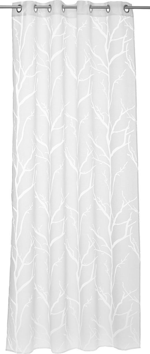 ÖSENSCHAL  halbtransparent   138/245 cm - Naturfarben, KONVENTIONELL, Textil (138/245cm) - ESPOSA