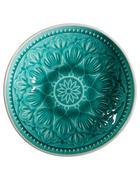 SCHÜSSELSET Keramik Steingut 4-teilig  - Grün, Trend, Keramik