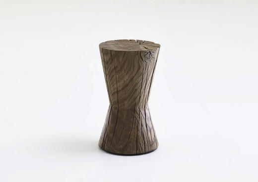 BEISTELLTISCH Kernbuche vollmassiv rund Buchefarben - Buchefarben, Design, Holz (28/46cm) - Valnatura