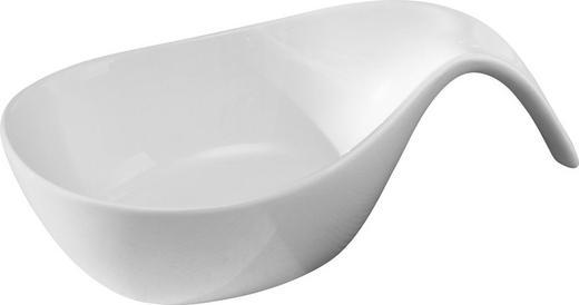 SCHÜSSEL Keramik Porzellan - Weiß, Basics, Keramik (19,8/11/5,8cm) - Novel