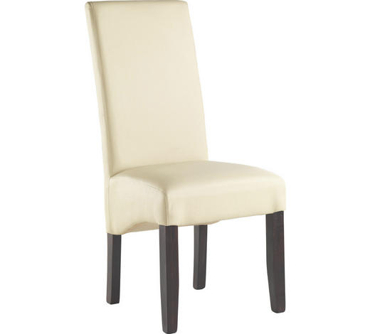 ŽIDLE, barvy wenge, béžová - barvy wenge/béžová, Konvenční, dřevo/textil (48/105/60cm) - Carryhome